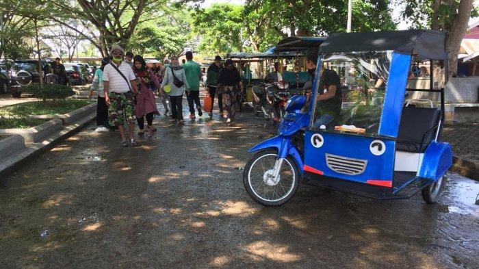 35 Pengemudi Bentor Siap Angkut Pengunjung Keliling Candi Muarojambi, Darul: Sudah Uji Kelayakan