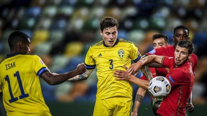 LINK Siaran Langsung Swedia vs Yunani di Kualifikasi Piala Dunia 2022, Tuan Rumah Tanpa Lindelof