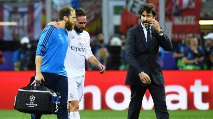 Dani Carvajal Terancam Absen Lagi Membela Real Madrid Karena Cidera Otot saat Lawan Valencia
