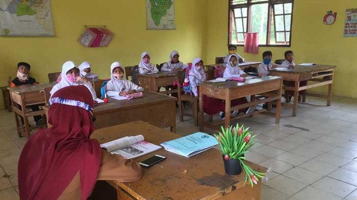 PPKM Level 3 di Batanghari, Pembelajaran Tatap Muka di Sekolah Patuhi Prokes