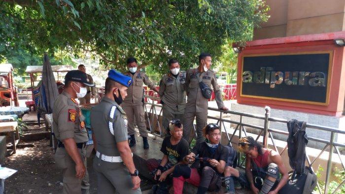 Khawatir Meresahkan, Belasan Anak Punk Diamankan Satpol PP Merangin