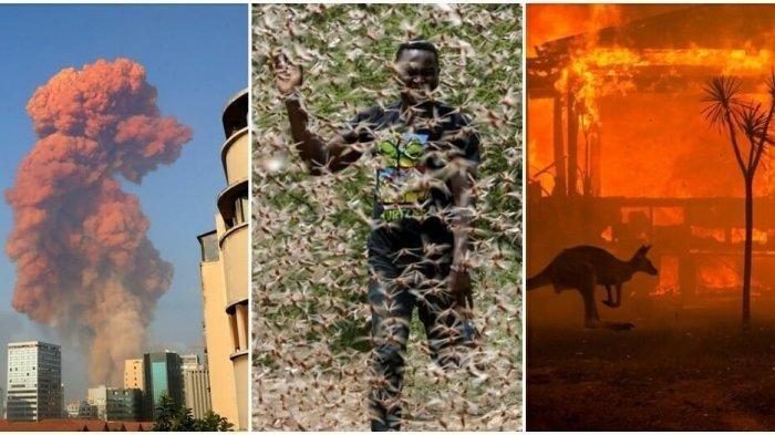 7 Bencana di Dunia Yang Terjadi Sepanjang 2020, Dari Corona Hingga Ledakan di Lebanon