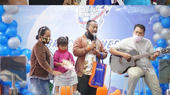 Berbagai macam kegiatan  dalam peringatan Customer Day tahun 2021 BRI Kanca Jambi