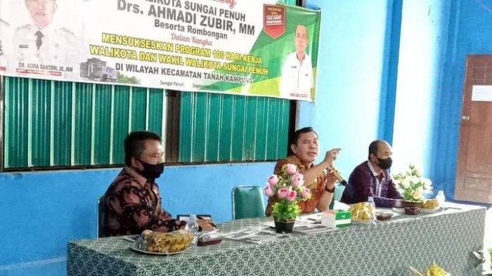 Berkantor di Kecamatan Tanah Kampung, Ini yang Disampaikan Wako Ahmadi
