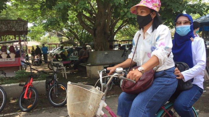 Cukup Rp 10 Ribu, Pengunjung Candi Muaro Jambi Bisa Pakai Sepeda Sepuasnya