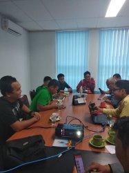 Grab Bersilaturahmi ke Tribun Jambi, Bahas Aktivitas Hingga Peluang Kerjasama