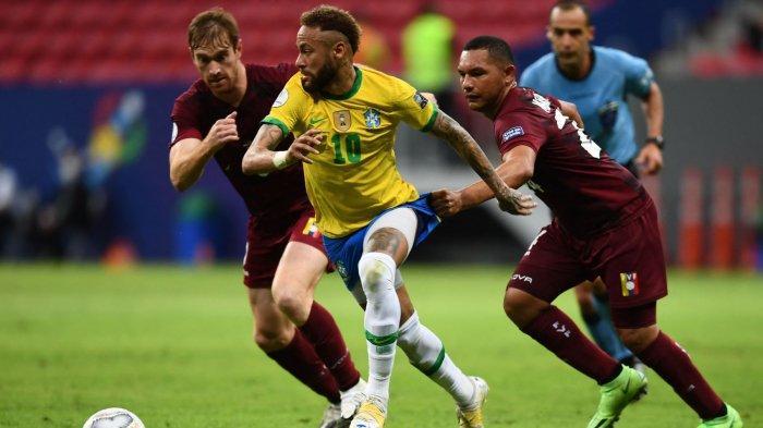 SKOR Akhir Venezuela vs Brasil 1-3, Selecao Perpanjang Rekor Tak Terkalahkan