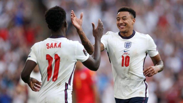 Bintang Timnas Inggris, Bukayo Saka dan Jesse Lingard
