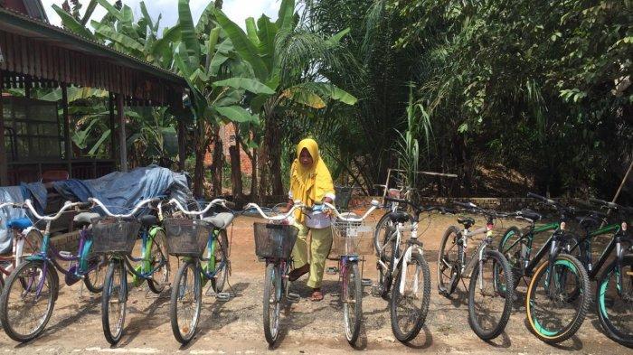 Bisnis Sewa Sepeda di Candi Muaro Jambi Mulai Menjanjikan, Sehari Omset Bisa Rp 500 Ribu