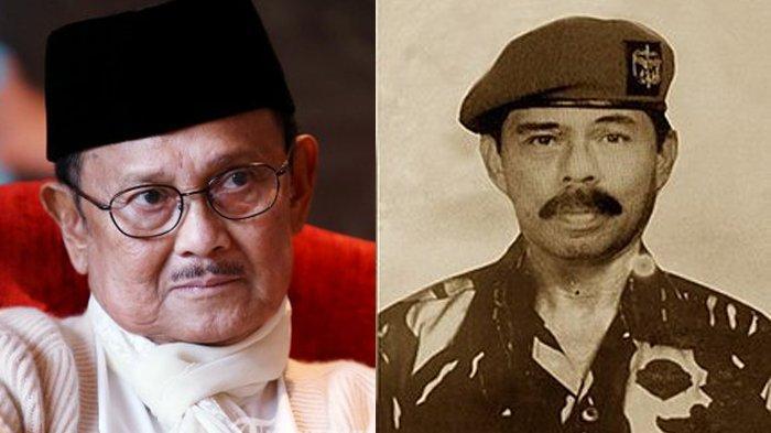 BJ Habibie dan Sintong Panjaitan