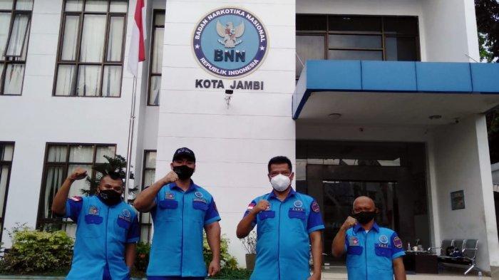 BNN Kota Jambi dan Influencer Jambi Cegah Narkoba dengan Gerakan Anti Narkoba