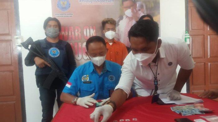 Penangkapan Pengedar Asal Maro Sebo Ulu, BNNK Batanghari Amankan Sabu Dari Tangan MS