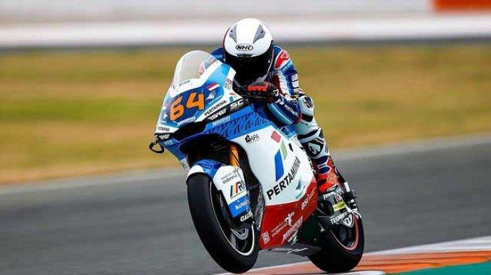 HASIL Moto2 di MotoGP 2021, Pembalap Pertamina Mandalika Bo Bendsneyder Finis Kesembilan