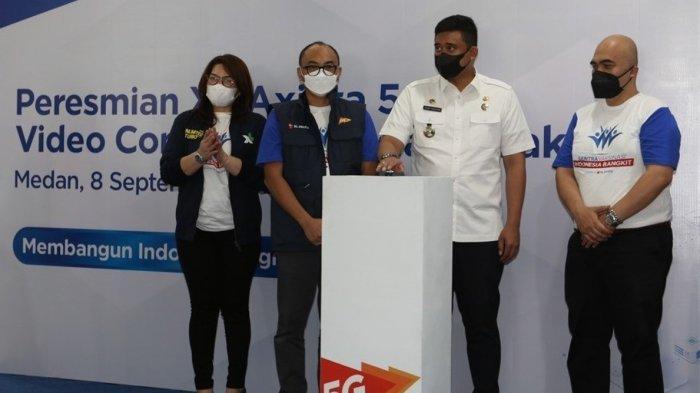 Serentak di Medan XL Axiata Gelar Sentra Vaksinasi dan Pengenalan Jaringan 5G