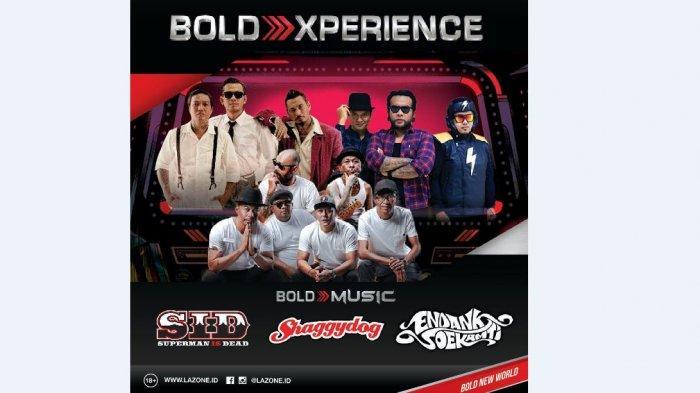 Bold Xperience Bold Music 'Xperience Seru Buat Kaum Millenials'