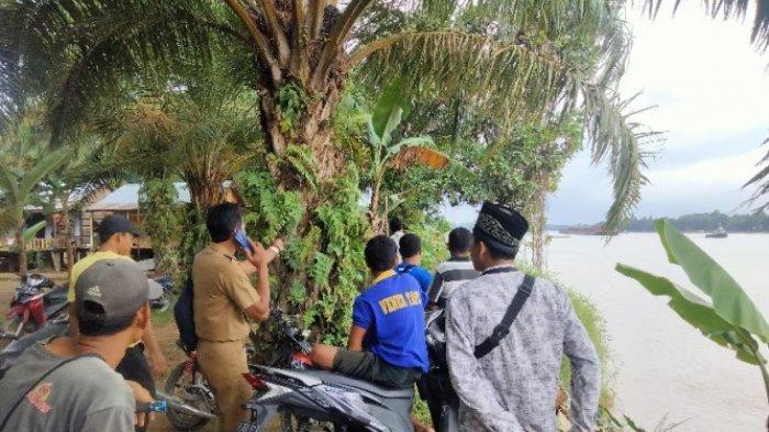 Bembi, Korban Terseret Arus Sungai Batanghari di Desa Pematang Pulai Belum Juga Ditemukan