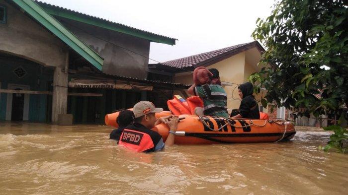 Ini Kerugian dari Banjir Terbesar yang Melanda Kelurahan Kasamba, Kota Jambi Sambut Tahun Baru 2021