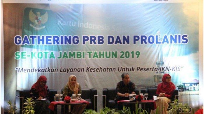 Gathering PRB-Prolanis Se-Kota Jambi, Mendekatkan Layanan Kesehatan untuk Peserta JKN-KIS
