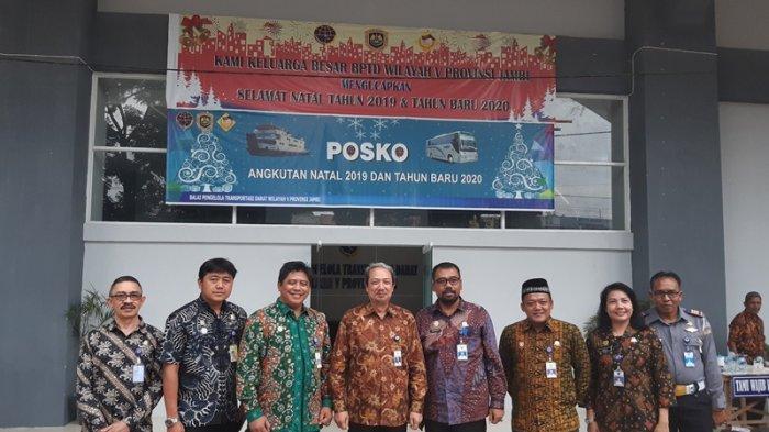 BPTD Wilayah Jambi Berkantor di Terminal Alam Barajo Kota Jambi, Ini Harapan Inspektur III Kemenhub
