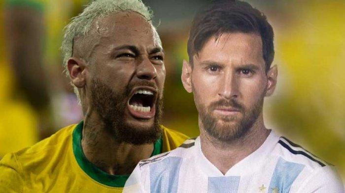Cuplikan Gol Angel Di Maria ke Gawang Brazil saat Final Copa America 2021 Tadi Pagi 11 Juli 2021