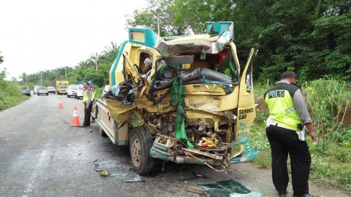 Kecelakaan Maut di Jujuhan Bungo, Polisi Tetapkan Sopir Dump Truck Sebagai Tersangka