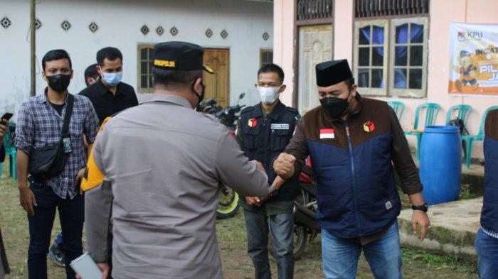 Wakapolda Jambi, Brigjen Pol Yudawan Roswinarso memantau langsung situasi kamtibmas di hari H pemungutan suara ulang (PSU) Pilgub Jambi 2020 di Kabupaten Tanjab Timur, Kamis (27/05/21).