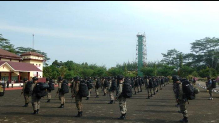 Ratusan Personel Brimob Polda Jambi Dikirim ke Poso Ikut Operasi Madago Raya
