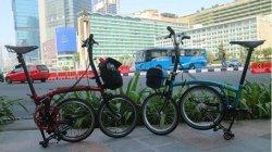 """Jokowi dan Iriana Ikut Beli Sepeda """"Brompton"""" Sepeda Kepala Negara Diberi Nomor Frame 0001"""