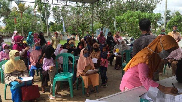 BST Tahap Sembilan di Batanghari, Ratusan Warga Dari Enam Desa Terima Uang Rp 300 Ribu