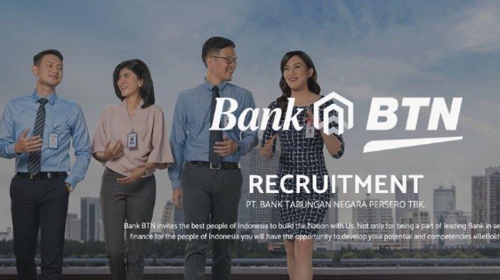 Lowongan Kerja Bank BTN untuk Lulusan S1, Simak Persyaratannya