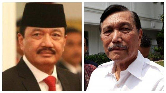 Sudah Lama Dipercaya Presiden Joko Widodo Luhut Binsar Pandjaitan Bakal Digeser Budi Gunawan?