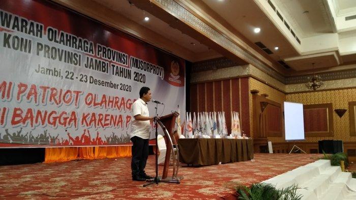 Budi Setyawan Terpilih Jadi Ketua KONI Jambi, Bakal Jalin Sinergitas dengan Pemerintah