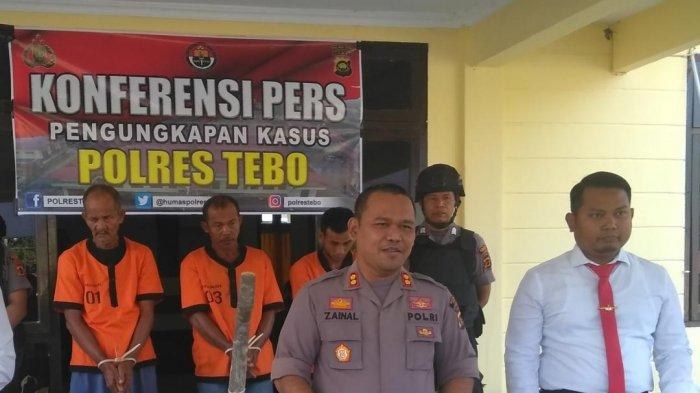 Buka Lahan untuk Kebun Sawit dengan Cara Bakar di Sumay, 3 Tersangka Karhutla di Tebo Ditangkap