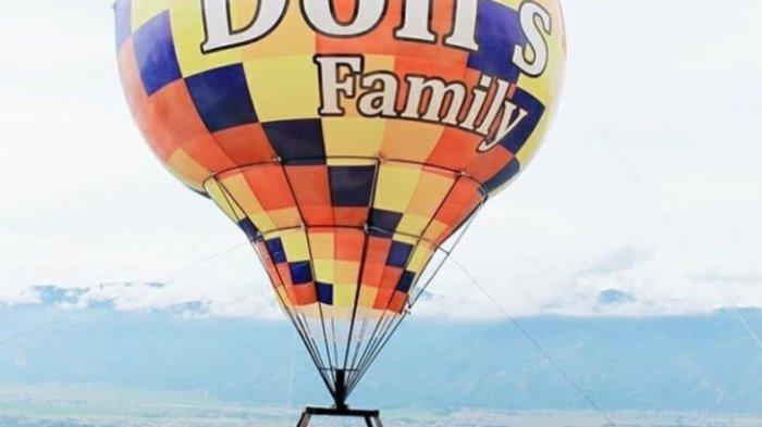Wisata Menarik Kerinci, Sensasi Naik Balon Udara Berwarna-warni Cara Asyik Nikmati Keindahan Kerinci