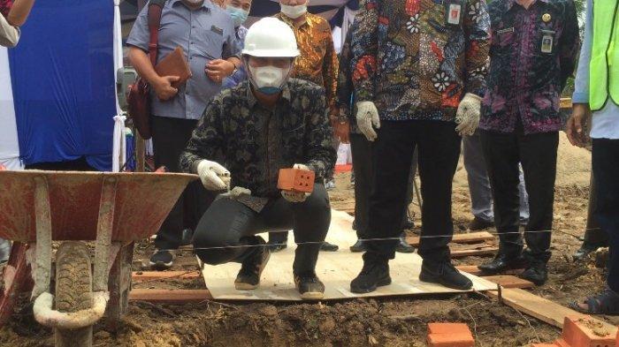 Letakan Batu Pertama, Fadhil Arief 'Pembangunan Gedung Perpustakaan Pemicu Untuk Saling Bekerjasama'