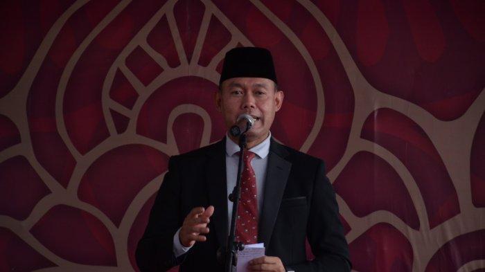 Bupati dan Wabup Tebo Ikuti Upacara HUT Bhayangkara via Online