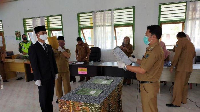 Bupati Kerinci Tunjuk ASN di Bagian Protokol Sebagai Pjs Kepala Desa Koto Iman