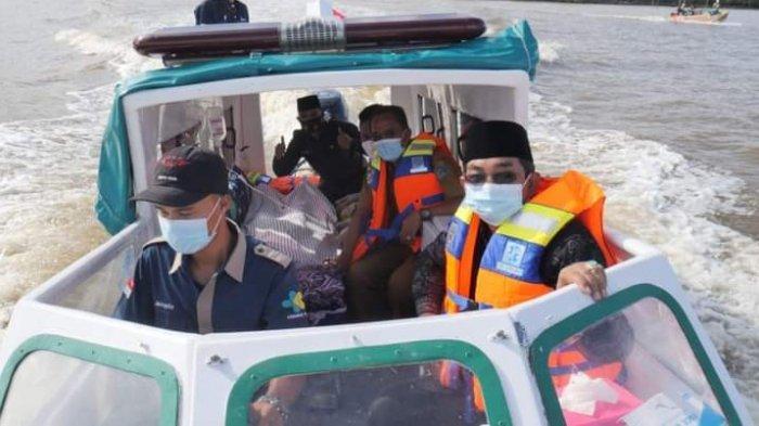 Bupati Tanjabbar Wujudkan Ambulance Air dan Rumah Singgah Untuk Masyarakat Kurang Mampu