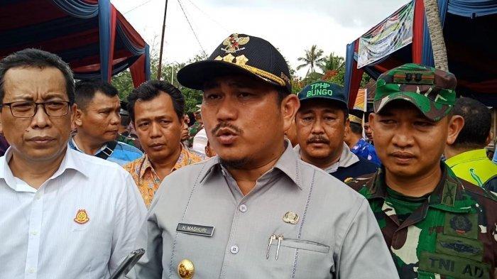 Mashuri Usulkan Perbaikan Jalan Nasional Sepanjang 84 Km