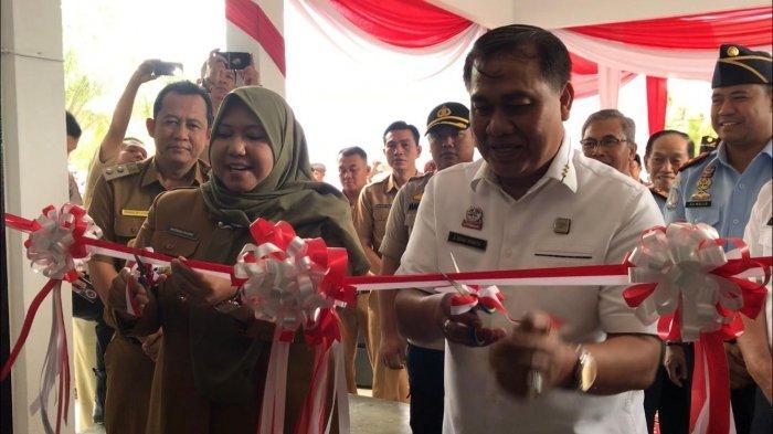 Bupati Masnah Busro Resmikan ULP Kantor Imigrasi Kelas II Kuala Tungkal di Kabupaten Muarojambi