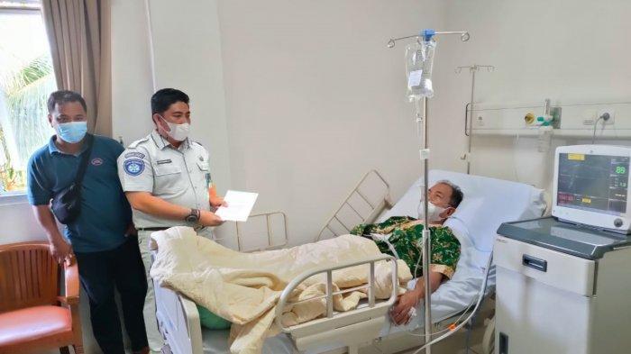 Jasa Raharja Langsung Jamin Kecelakaan Bupati Merangin di Jalan Lintas Jambi-Tembesi