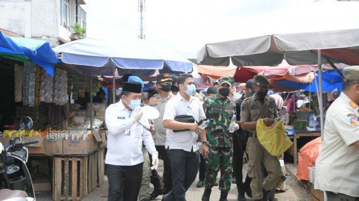 Hari Pertama Puasa, Harga Sembako di Pasar Baru Bangko Jambi, Merangkak Naik dan Sepi Pembeli
