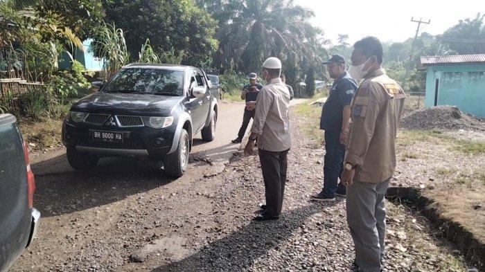 Pantau Jalan Seling-Muaro Jernih, Bupati Merangin Mashuri Akui Anggaran Tak Mampu