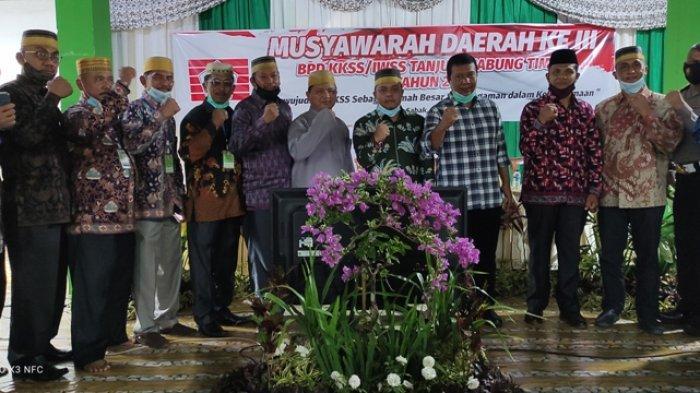 Bupati Romi Hadiri Musda III BPD KKSS/IWSS Kabupaten Tanjabtim