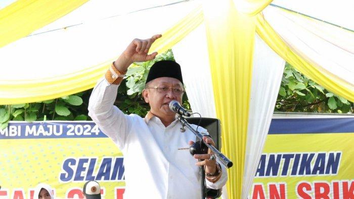 Cek Endra Akan Ajak Pemerintah Pusat Demi Maksimalkan Pembangunan Jambi