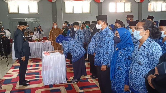 Sebanyak 39 Kepala Sekolah Dilantik Bupati Sarolangun
