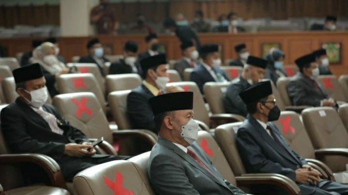 Bupati Sukandar Hadiri Rapurna Penyampaian Pidato Gubernur Terpilih