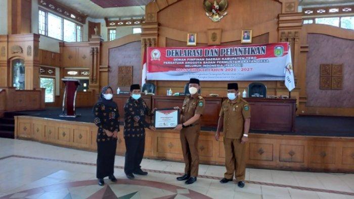 Bupati Sukandar Lantik DPD PABPDSI Tebo, Ini Harapan Kepada Anggotanya