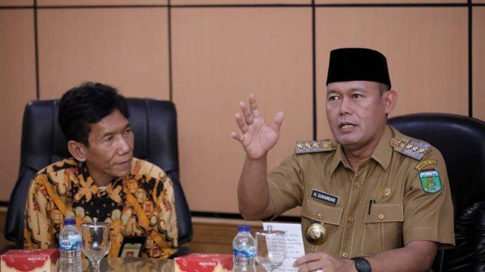 Bupati Sukandar Lapor SPT Tahunan Melalui DJP Online