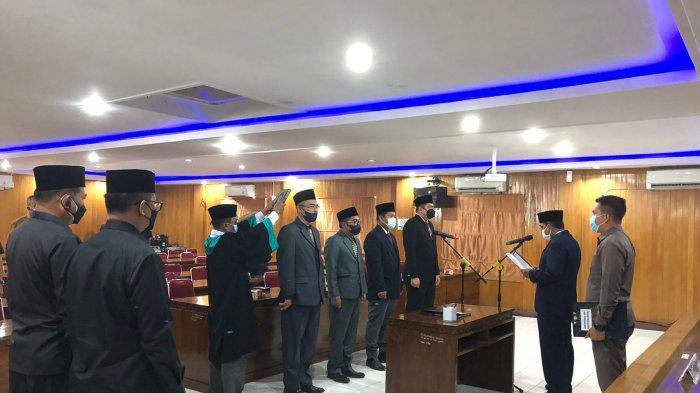 Mulai Lakukan Perombakan, Bupati Tanjabbar Lantik Empat Pejabat Eselon III dan IV